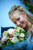 De Vrouw van het huwelijk Stock Foto's