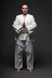De vrouw van het judo royalty-vrije stock foto's