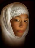 De vrouw van het mohammedanisme royalty-vrije stock afbeelding