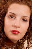 De vrouw van het portret Royalty-vrije Stock Foto's