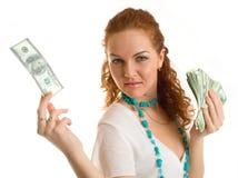 De vrouw van het succes Stock Fotografie