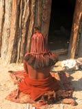 De vrouw van Himba Stock Foto