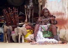 De vrouw van Himba Stock Fotografie