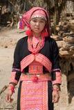 De vrouw van Hmong van Laos royalty-vrije stock afbeelding