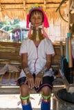 De vrouw van Kayan Stock Foto's