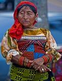 De vrouw van Kuna Royalty-vrije Stock Fotografie