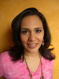 De Vrouw van Latina Royalty-vrije Stock Afbeeldingen