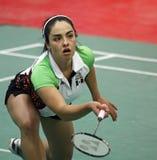 De vrouw van Mexico van het badminton Stock Foto's
