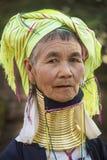 De Vrouw van Padaung - Myanmar Royalty-vrije Stock Foto