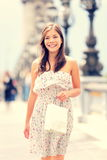 De vrouw van Parijs Stock Afbeelding