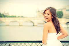 De vrouw van Parijs Royalty-vrije Stock Foto's