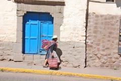 De vrouw van Peru Stock Afbeelding