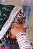 De Vrouw van Rajasthani Stock Afbeeldingen