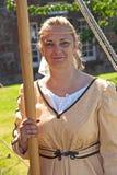 De vrouw van Roman militair Royalty-vrije Stock Foto