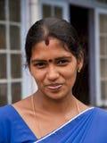 De vrouw van Sri Lanka Stock Afbeeldingen
