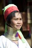 De vrouw van Thailand Padaung royalty-vrije stock afbeelding