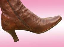 De vrouwelijke laarzen van het schoeisel Royalty-vrije Stock Afbeeldingen