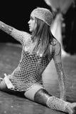 De vrouwelijke speler van de dans Royalty-vrije Stock Afbeeldingen