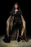 De vrouwelijke Status van de Vampier Royalty-vrije Stock Afbeeldingen
