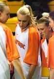 De Vrouwen 2009-2010 van EuroLeague. Royalty-vrije Stock Foto