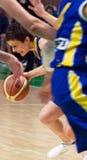 De Vrouwen 2009-2010 van EuroLeague. Stock Afbeelding