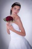 De vrouwen in huwelijk kleden zich Royalty-vrije Stock Afbeelding