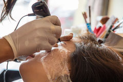 De vrouwen tatoeëren Stock Afbeelding