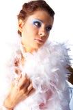De vrouwen van Beautyful op witte achtergrond Royalty-vrije Stock Fotografie
