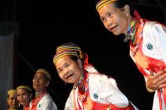 De Vrouwen van Bidayuh Stock Foto
