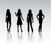 De Vrouwen van de manier Stock Foto's