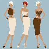 De vrouwen van de manier Royalty-vrije Stock Afbeelding
