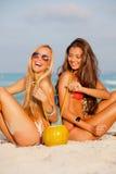 De vrouwen van de zomer Stock Fotografie