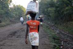 De vrouwen van Haïti stock fotografie