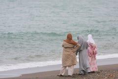 De vrouwen van Marokko Stock Foto's