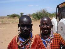 De Vrouwen van Masai Stock Afbeeldingen