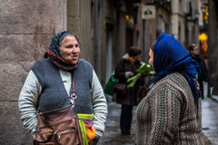 De vrouwen van Rome Stock Afbeelding