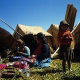 De vrouwen van Uruindian Royalty-vrije Stock Foto