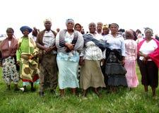 De Vrouwen van Xhosa Stock Afbeelding