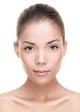 De vrouwengezicht van de schoonheid Royalty-vrije Stock Afbeeldingen