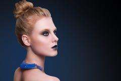 De vrouwengezicht van de schoonheidsmannequin Royalty-vrije Stock Foto's