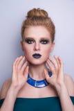 De vrouwengezicht van de schoonheidsmannequin Royalty-vrije Stock Afbeelding