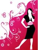 De vrouwenmanier van de illustratie Stock Foto's