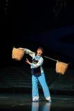 De vrouwenoogst een opera van mandjiangxi een weeghaak Royalty-vrije Stock Foto's