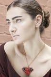 De vrouwenportret van de manier Royalty-vrije Stock Foto