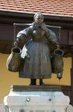 De Vrouwenstandbeeld van Bamberg, oud Marktvierkant poznan Royalty-vrije Stock Afbeelding