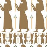 De vrouwenvektor van Egipt Royalty-vrije Stock Afbeelding