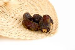 De Vruchten van de datum Stock Fotografie