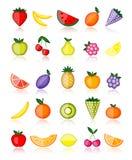 De vruchten van de energie. Vector inzameling Stock Fotografie