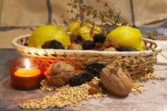 De vruchten van de herfst Royalty-vrije Stock Foto's