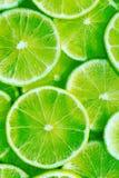 De vruchten van de kalk Stock Afbeeldingen